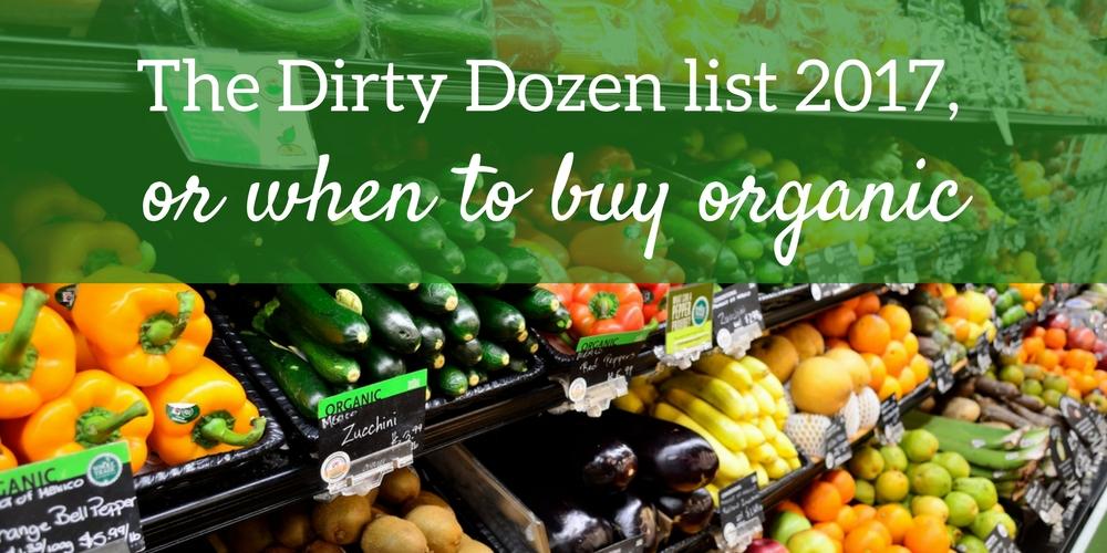The Dirty Dozen list 2017
