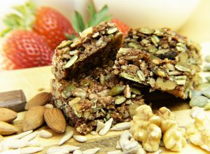 Muesli energy bars