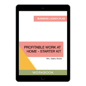 Profitable work at home